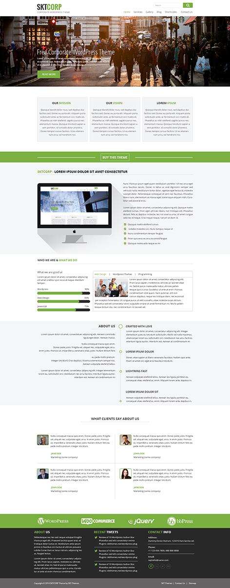 free WordPress theme business