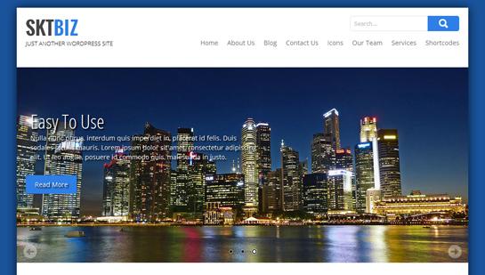 free business WordPress theme