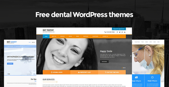 free-dental-wordpress-themes