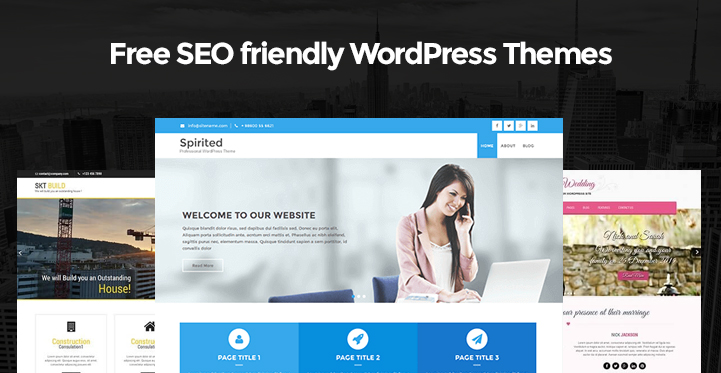Free SEO friendly WordPress Themes for SEO friendly websites - Themes21