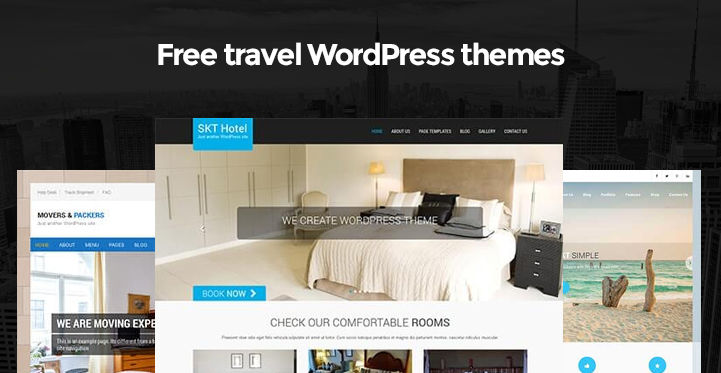 Free Travel WordPress Themes for Travel Bloggers and Tour