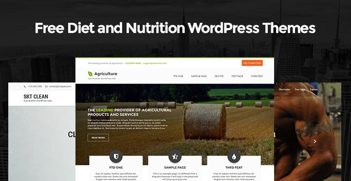 free-diet-nutrition-wordpress-themes