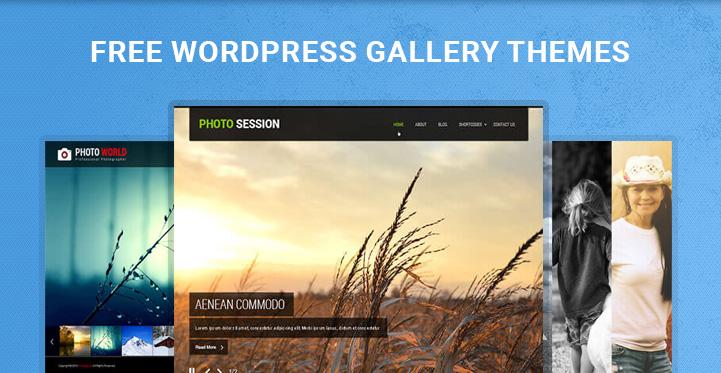 free WordPress gallery themes