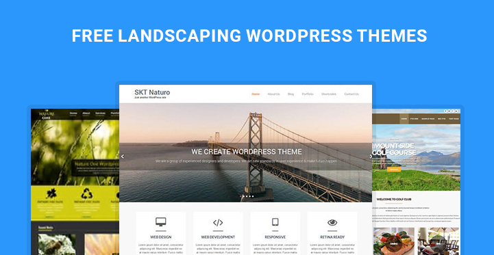 Free Landscaping wordpress themes