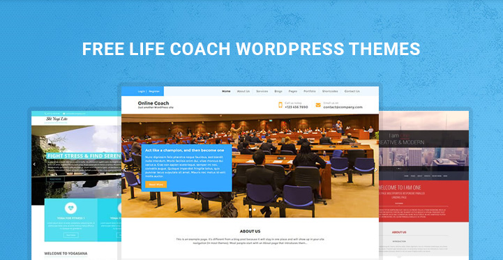 free life coach wordpress themes golf and online coaching themes 21