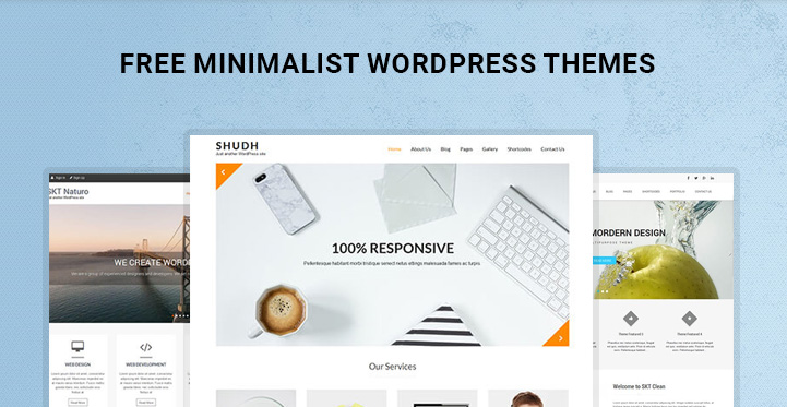 Free Minimalist WordPress Themes for Minimalist Style Websites