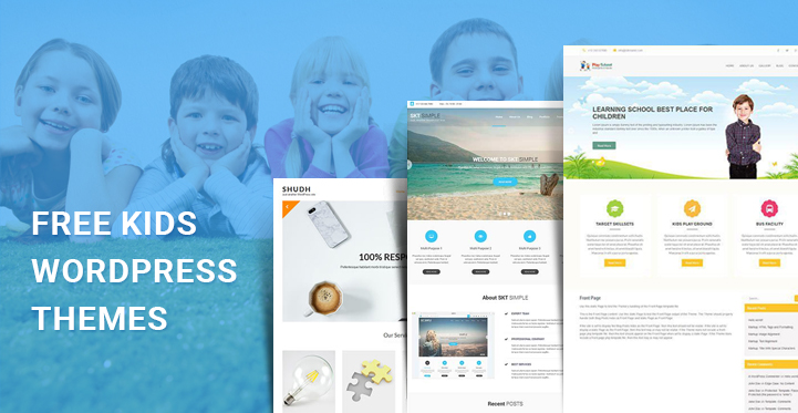 Free Kids Wordpress Themes For Kids Related Websites