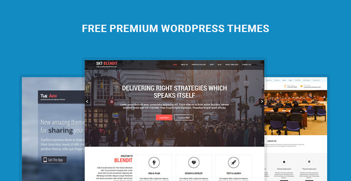 Best Free premium WordPress Themes Ready to Download