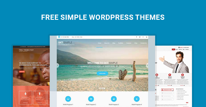 free simple WordPress themes-banner
