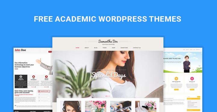 free academic WordPress themes