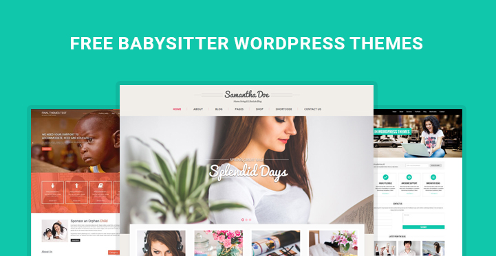 free babysitter WordPress themes