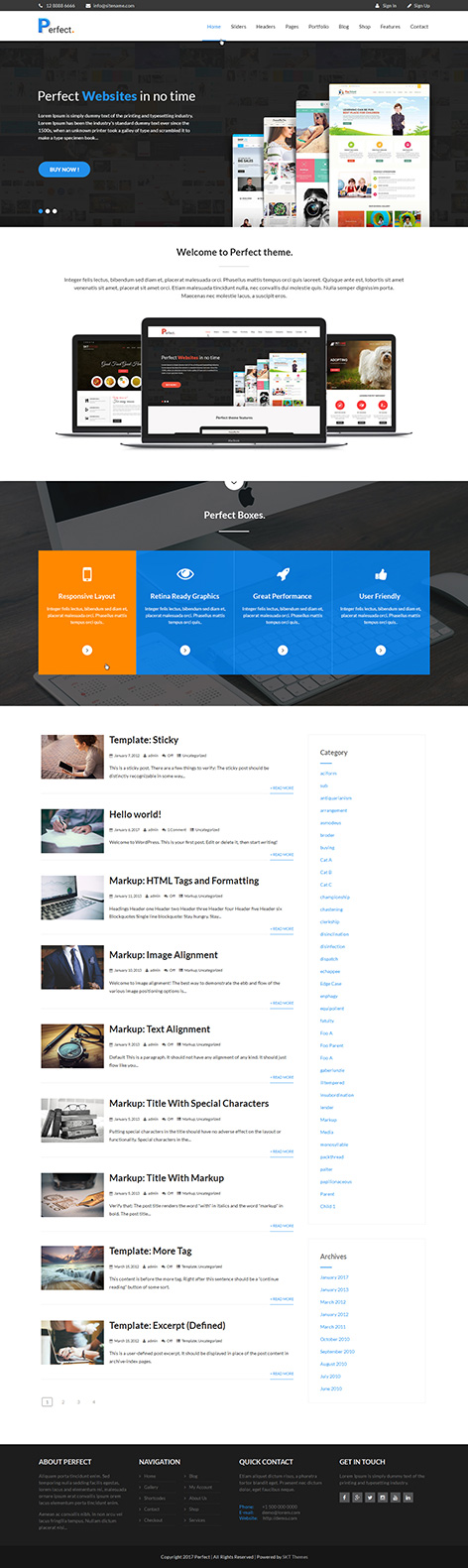 free coming soon WordPress theme