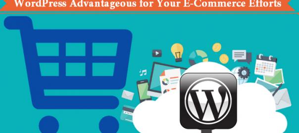 WordPress Advantageous for Your E-Commerce Efforts