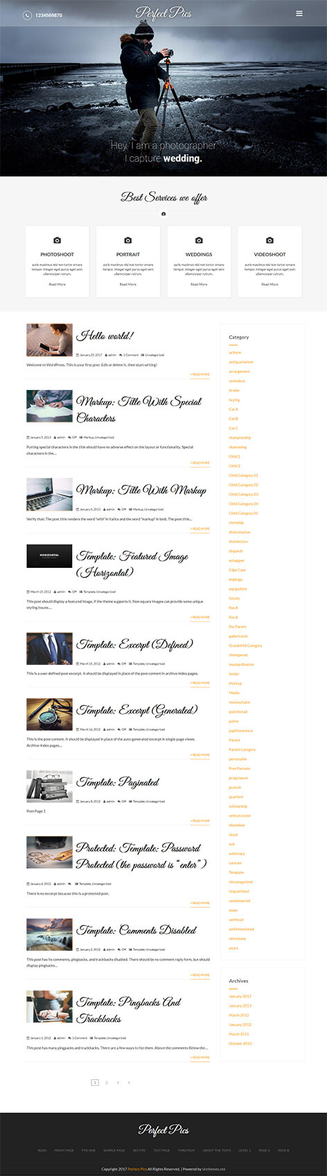 free-photogallery-wordpress-theme