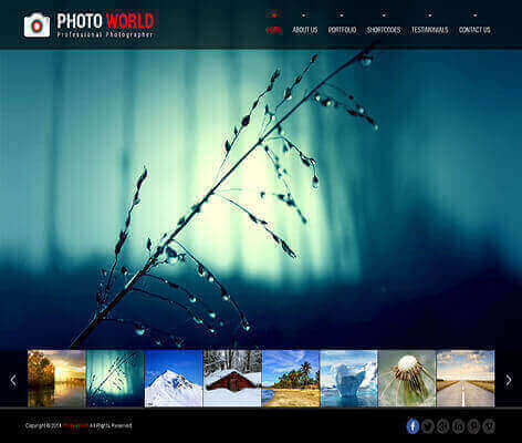 best free photography WordPress themes
