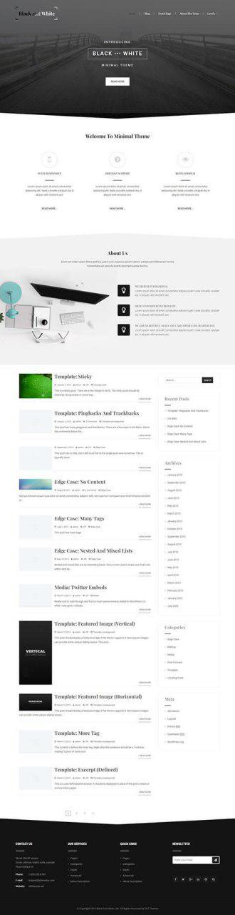 Free knowledge base WordPress theme