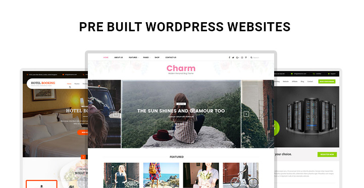 Pre-built-WordPress-websites
