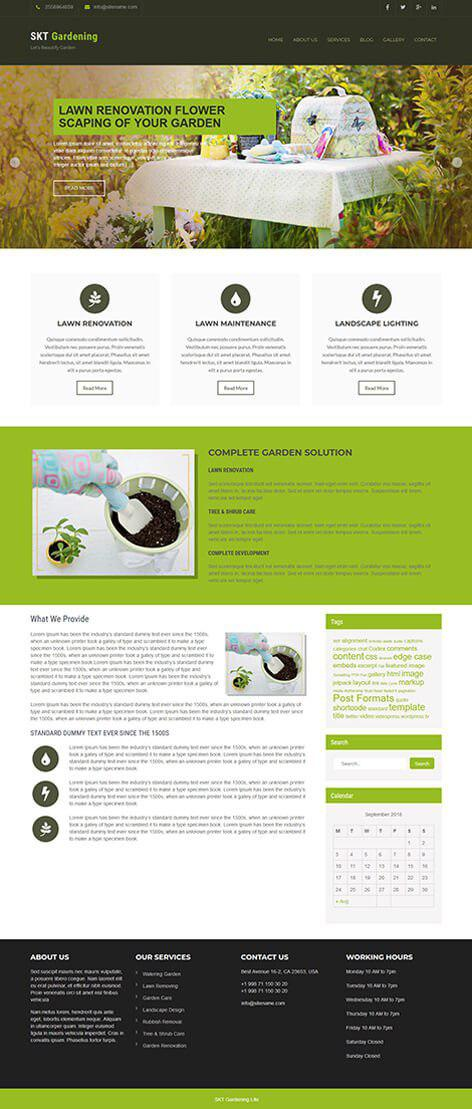 free-gardening-wordpress-theme