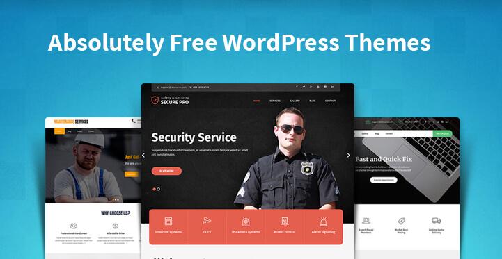 Absolutely Free WordPress Themes
