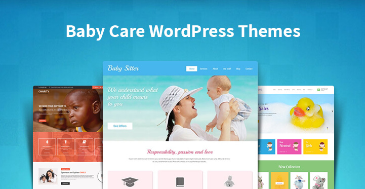 Baby Care WordPress Themes