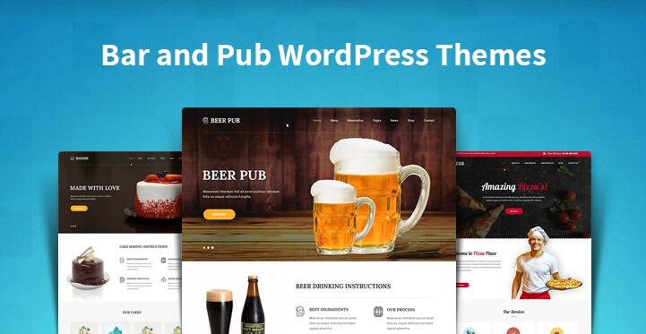 Bar and Pub WordPress Themes