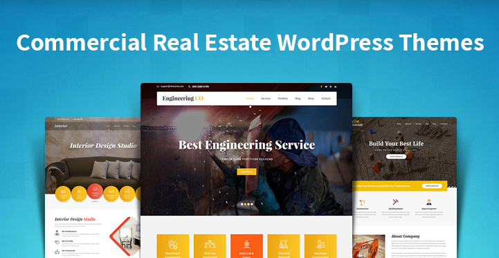 Commercial Real Estate WordPress Themes