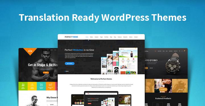 Translation Ready WordPress Themes