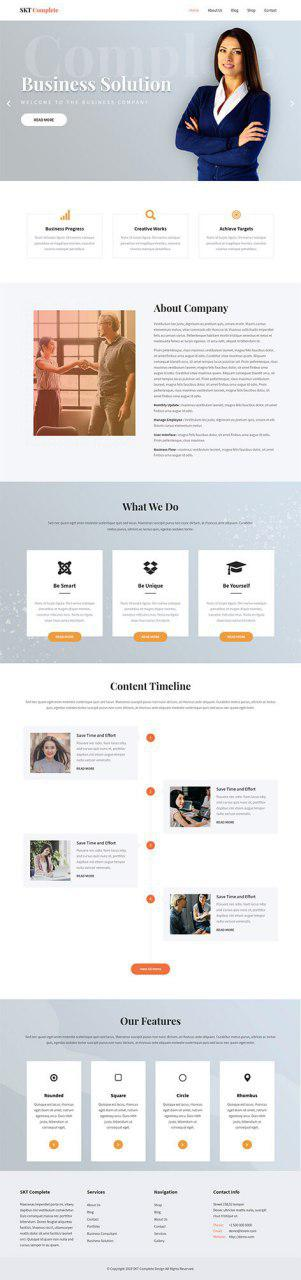 Free Ultimate WordPress Theme 2