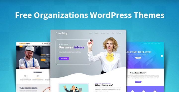 Free Organizations WordPress Themes