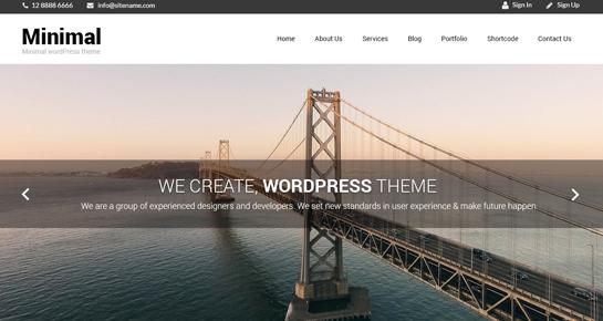 Naturo Lite WordPress Theme