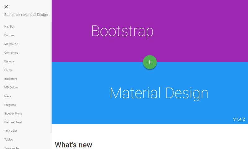Bootstrap or Material Design